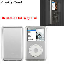 Clear Hard Case for iPod Classic 80gb 120gb 160gb Crystal Cover + Screen Films