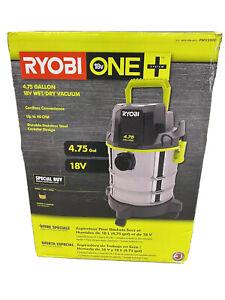 Ryobi One+ 18v Cordless 4.75 Gallon Wet/Dry Vacuum Portable BRAND NEW SEALED