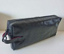 MAC Makeup Cosmetics Bag in Black Faux Patent Leather, Brand NEW! 100% Geniune