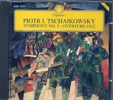 CD CLASSIQUE--TSCHAIKOWSKY--SYMPHONIE N° 5 / OUVERTURE