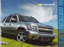Mint  2007 Chevrolet  AVALANCHE Brochure 07 Chevy