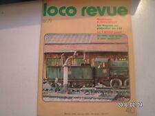 **c Loco Revue n°410 La 61004 Jouef / Le G4 Roco / grues à eau PO et PLM