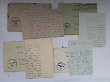 Feldpost Letters Lot of 4 Envelopes 1941 Aachen Holland Netherlands