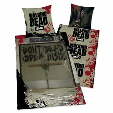 officiel The Walking Dead ne pas ouvert Set Housse de couette simple réversible