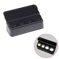 Coin Changer Dispenser Plastic Coin Storage Box Wallet Organizer Holder FU