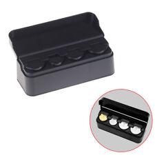 Coin Changer Dispenser Plastic Coin Storage Box Wallet Organizer Holder NA