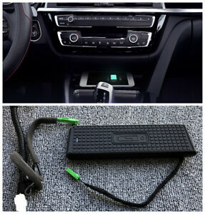 Console Storage box Wireless Charging charger For BMW F30 F34 F32 F36 3 4 Series