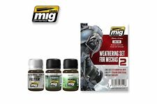 AMMO OF MIG A.MIG-7429 Weathering Set 2 For Mechas 3p
