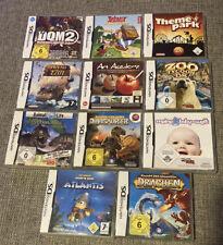Nintendo DS Spiele Sammlung