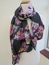 NEW!!!100% Silk Ted Baker Lost Gardens Long Silk Scarf - STUNNING! Perfect!