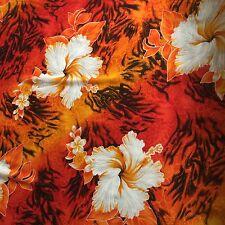 Hawaiian design fabrics 2 meters