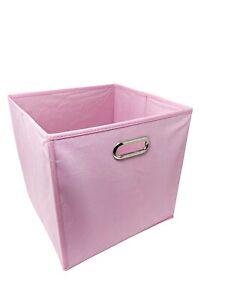 "13"" Large 6 pcs Fabric Storage Bins Box Organizer Cube Basket Container"