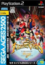 Used PS2 Sega AGES 2500 Vol. 19 Fighting Vipers SONY PLAYSTATION JAPAN IMPORT