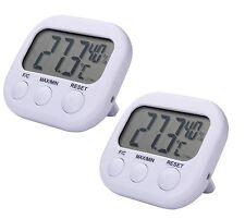 2x Digitales LCD Thermometer Hygrometer Luftfeuchtigkeitsmesser  Innentemperatur
