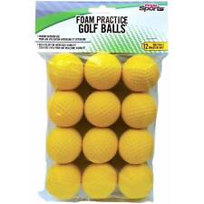 12 NEW Pride Sports Foam Practice Golf Balls Train Indoors/Outdoors Ships Free