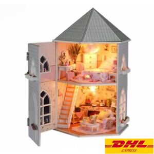 Doll House Diy Love Fortrees Without Dust Coverr Miniature Handicraft