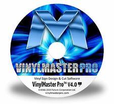 Design/Cut Software Make Decals Signs Logos Lettering VinylMaster PRO Software