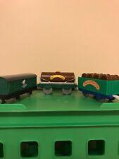 THOMAS Train Trackmaster 3 Piece Chocolate Car Set