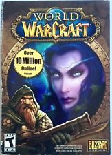 VINGAGE WORLD OF WARCRAFT PC COMPUTER GAME NEW IN STILL SEALED BOX