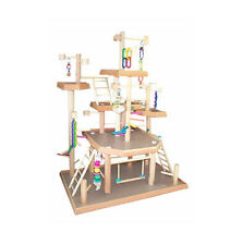 Six Levels Bird Play Gyms, Bird Activity Center for Sun Conures Base: 30'' x 20""
