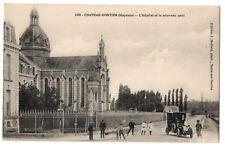 CPA 53 - CHATEAU GONTIER (Mayenne) - 1608. L'Hôpital et le nouveau quai