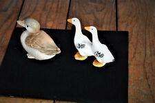 Vintage Lot Of 2 Ducks/Geese Hummel Goebel And Other Porcelain