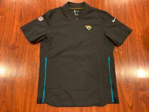 Nike Men's Jacksonville Jaguars Short Sleeve Sideline Coaches Jacket Medium M