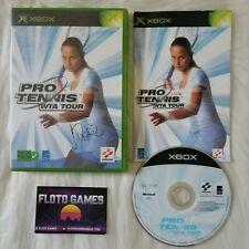 Jeu Pro Tennis WTA Tour pour X-Box XBOX PAL Complet CIB - Floto Games