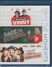 My Cousin Vinny/Back to School/City Slickers (Blu-ray Disc, 2012, 3-Disc Set) Ne