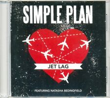 SIMPLE PLAN feat NATASHA BEDINGFIELD - Jet lag 1TR DUTCH ACETATE PROMO CD 2011