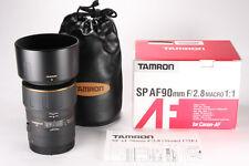 Tamron 90mm F/2.8 172E SP AF Lens For Canon EF Mount * Excellent *