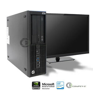 HP Z230 SFF Workstation E3-1245v3 3.40GHz /8GB RAM/ 1TB HDD/ Win10/HD P4600