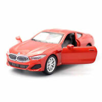 1:44 Scale BMW M850i Coupe Model Car Metal Diecast Gift Toy Vehicle Kids Red