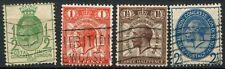 GB KGV 1929 SG#434-437 UPU Congress PUC Used Set Of 4 #D79539