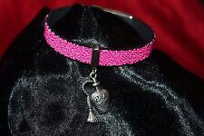 fantaisie bracelet/armband caviar rose breloque parfum