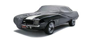Fleeced Satin Black Covercraft Custom Fit Car Cover for Select Chevrolet Camaro Z28 Models FS14305F5