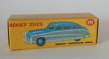 Repro Box Dinky Nr.171 Hudson Commodore Sedan grau/blau und blau/braun