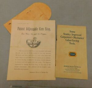 Stanley Rule & Level Co c 1905 Advertising Flyer & Tool Catalog  NOT Reprints!!!