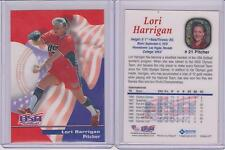 RARE 2000 ROOX LORI HARRIGAN ROOKIE SOFTBALL CARD #21 ~ USA TEAM ~ BIGGEST LOSER