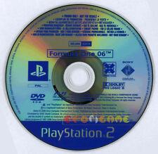 FORMULA ONE 06 Ps2 Versione Promo Europea gioco completo F1  »»»»» SOLO DISCO