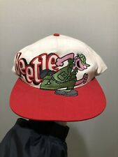 Vintage 1994 Beetle Bailey Spellout Blockhead Snapback Hat Cap By Head Start