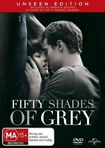 """Fifty Shades Of Grey DVD """" UNSEEN EDITION """" - SAME / NEXT DAY FAST POST"""