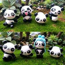 Animal Garden Statue Resin Cute Outdoor Panda Figurines for Yard House T3