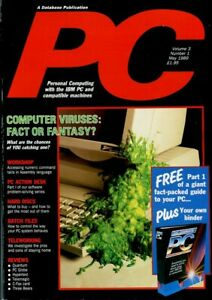D131711 PC Plus Vintage Computer Magazine Volume 3 Nr. 1 May 1989