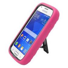 Samsung Ace Style S765C Hybrid Cover Case Armor Dual Layer Hot Pink /Diamond