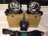 VW Polo Mk4 9N3 LED  Fog Light Kit 2005-2009  ***Brand New***