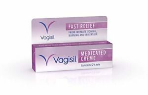 Vagisil Medicated Cream Fast Relief From Feminine Intermate Itching Burning