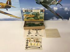 Vintage Revell 1/72 Boeing P-26A Kit Complete And Unstarted Original 1960's Kit