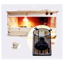Reptile Heat Lamp Light Bulb Lampshade Anti-Burn Protective Guard Cylinder