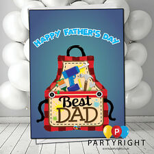 Personalised Tools Belt Fathers Day Greetings Card A5 size (s2)